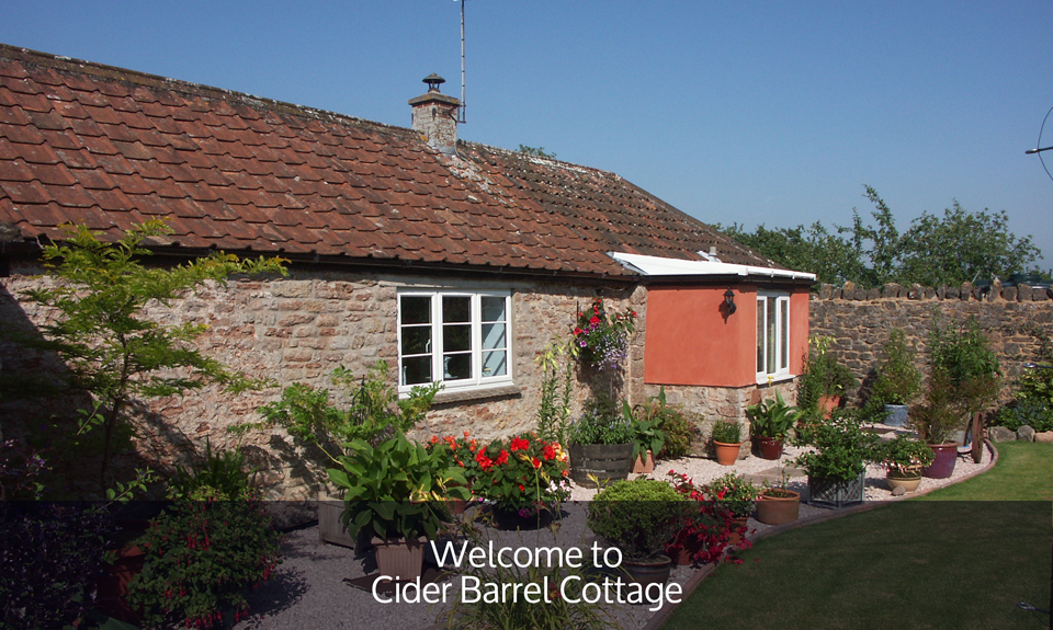 Cider Barrel Cottage – Somerset self catering holiday cottage nr Wells.